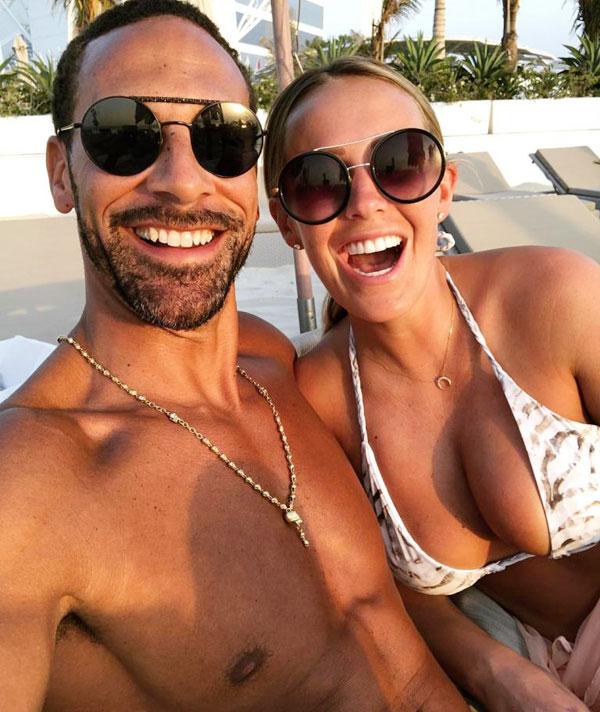 Ferdinand và người đẹp Kate Wright đang nghỉ lễ phục sinh tại Dubai.