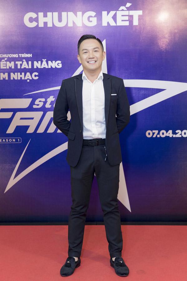 MC Anh Khoa là thành viên ban tổ chức cuộc thi Steps2fame.