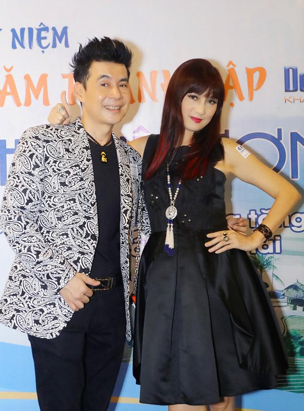Diễn viên Hiền Mai đã qua tuổi 50 vẫn trẻ đẹp như thời đôi mươi. Cô và Đoan Trường là bạn thân hơn 30 năm nay.