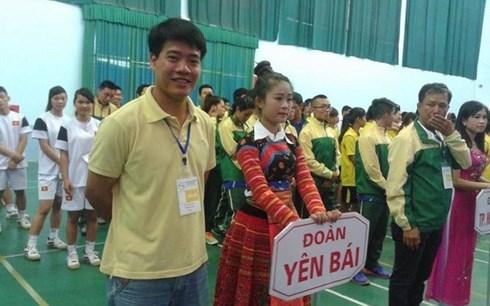 Trợ lý trọng tài Dương Ngọc Tân.