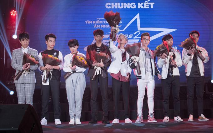 Sau hơn 3 tháng tranh tài, 4 thí sinh Chí Nam, Tùng Lâm, Tuấn Duy và Quốc Lân được chọn vào nhà chung. Họ sẽ có 2 tháng tập luyện để tìm người xuất sắc sang Hàn Quốc dự khóa đào tạo ca hát dài 18 tháng.
