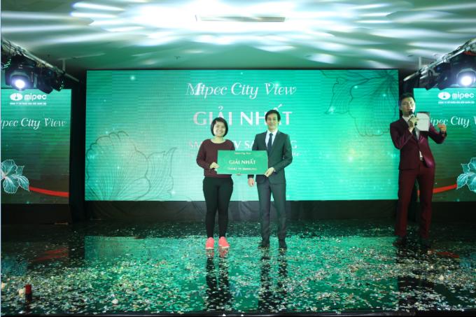 Người trúng giải nhất là chị Nguyễn Diệu Thơ (Hà Nội).