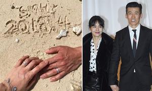 Vợ chồng sao 'Phía đông vườn địa đàng' kỷ niệm 14 năm hôn nhân