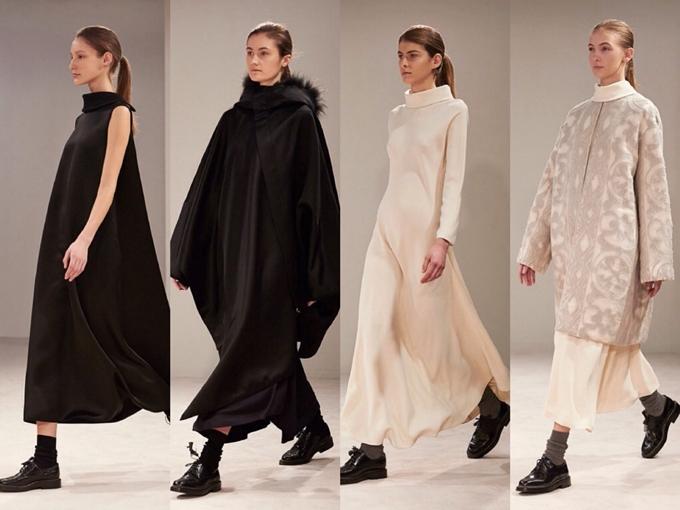 Các thiết kế của chị em nhà Olsen đi theo phong cách tối giản, monochrome (đơn sắc).