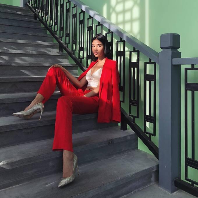 Sao Việt mê diện suit thanh lịch
