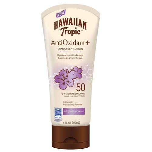 Kem chống nắng của Hawaiian Tropic chứa nhiều chất chống oxy hóa, giúp nuôi dưỡng và bảo vệ làn da khỏi các dấu hiệu lão hóa sớm. Mức giá rất phải chăng, chỉ 8 USD (khoảng 180.000 đồng) là ưu thế lớn của sản phẩm này.