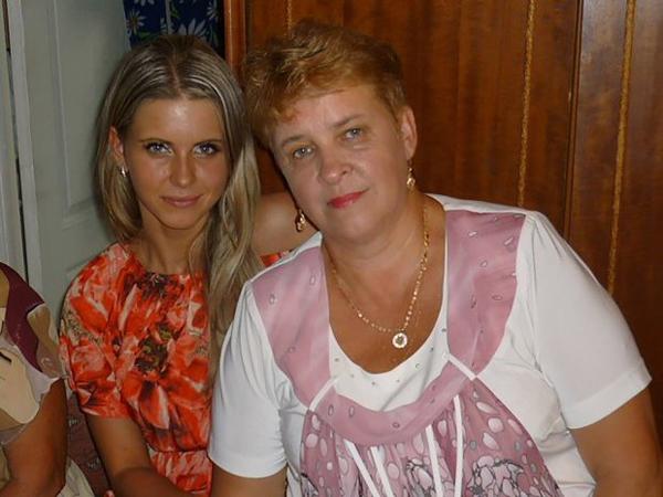 Ekaterina và mẹ, bà Galina Baryshnikova