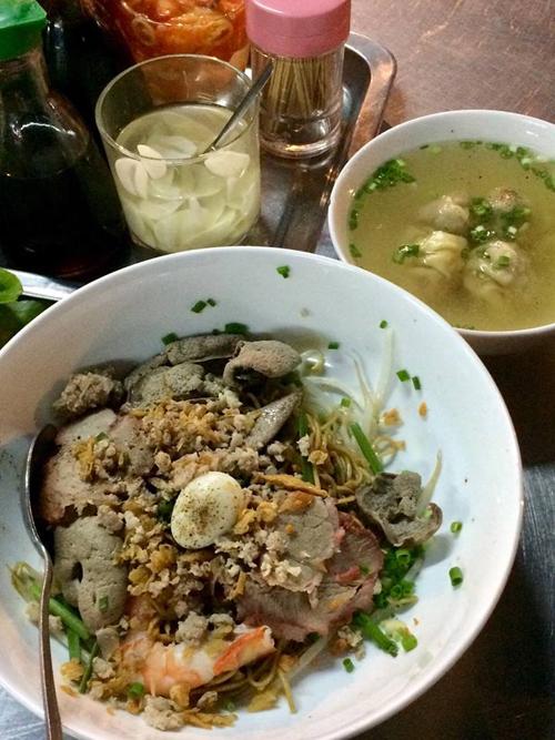 Quán mì Tàu yêu thích của Cindy Thái Tài ở Sài Gòn