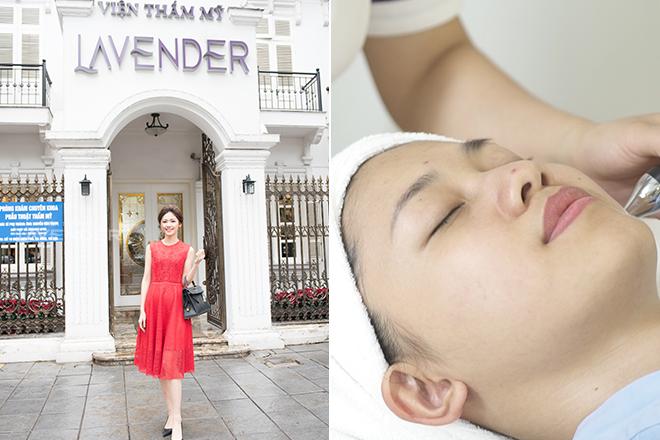 Cô cho biết thườngđi spa làm đẹp, trải nghiệm những liệu trình chăm sóc da mặt chuyên sâu.