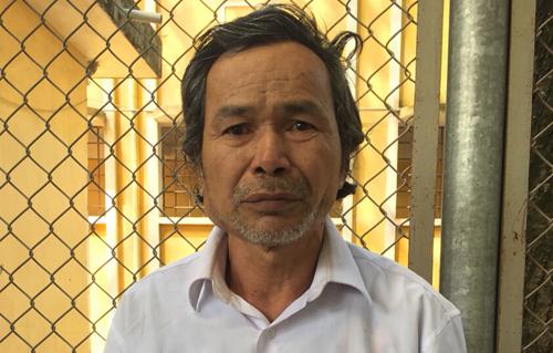 Dương Minh Sơn tại cơ quan điều tra.