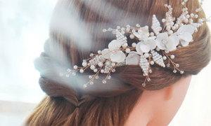 4 món phụ kiện tóc 'nhỏ nhưng có võ' cho cô dâu
