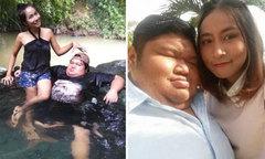 Chàng trai nặng 120 kg cưới bạn gái xinh đẹp sau 10 năm hẹn hò