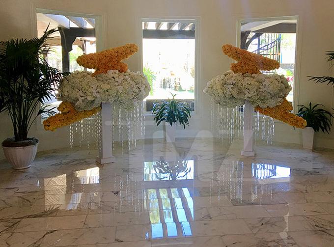 Căn phòng ngập tràn hoa chào đón Stormi về thăm nhà nội.