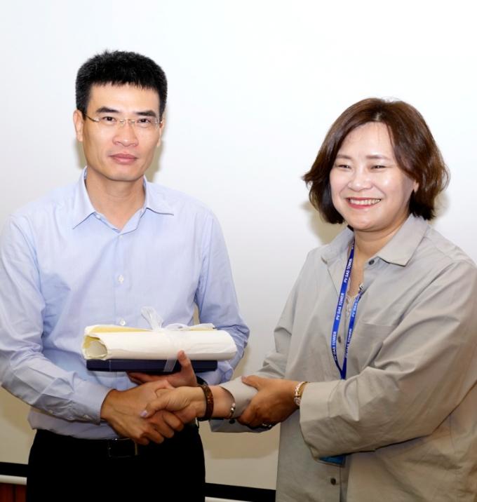 Tổng Giám đốc PV GAS tiếp Phó Tổng Giám đốc KOGAS