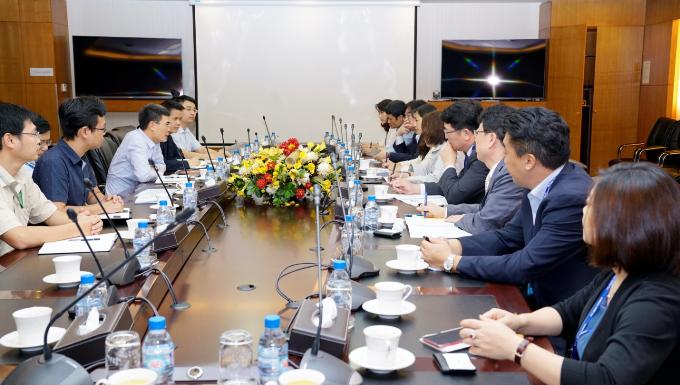 Tổng Giám đốc PV GAS tiếp Phó Tổng Giám đốc KOGAS - 1