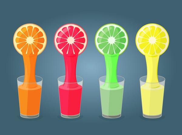 Nước ép trái cây chua Uống quá nhiều nước ép trái cây chua có thể gây ảnh hưởng tới nồng độ