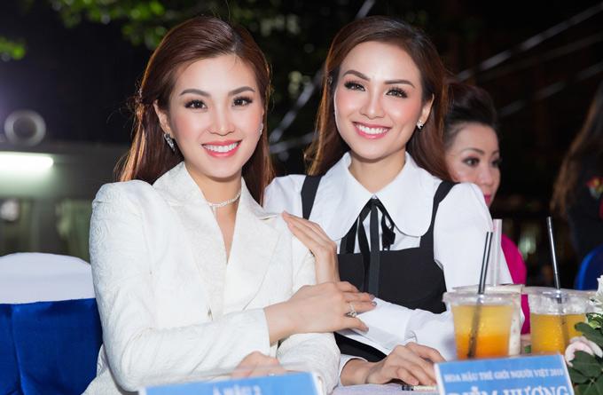 Hai người đẹp có điểm chung là cùng thuộc thế hệ 9X, đã lập gia đình, đang làm mẹ.