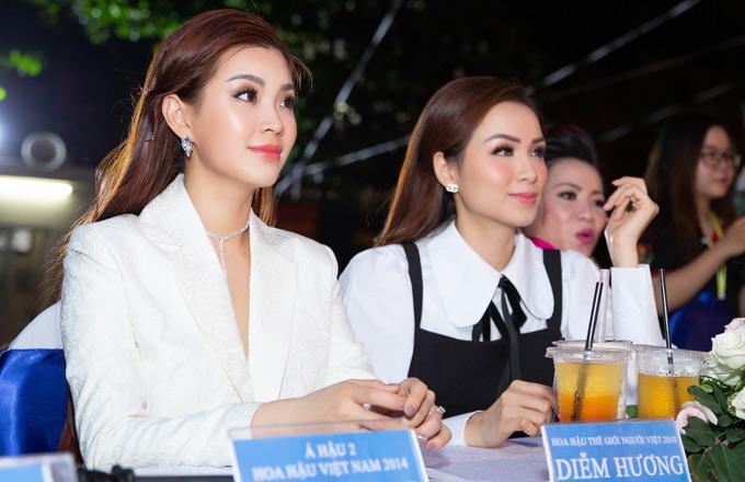 Diễm Trang theo đuổi lĩnh vực MC còn Diễm Hương đang thử sức kinh doanh tiệm bánh.