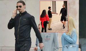 Ibrahimovic từ chối bắt tay nhưng đồng ý chụp ảnh cùng fan nam