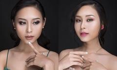 Thiên Thanh gợi ý cách trang điểm mắt theo phong cách ombre
