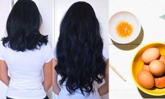 Mặt nạ trứng giúp tóc mọc nhanh gấp đôi chỉ sau một tháng