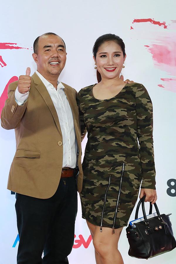 Ngọc Trinh mặc gợi cảm đi xem phim mới của đàn em Quỳnh Hương - 10