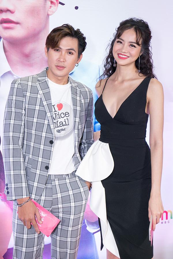 Ngọc Trinh mặc gợi cảm đi xem phim mới của đàn em Quỳnh Hương - 6