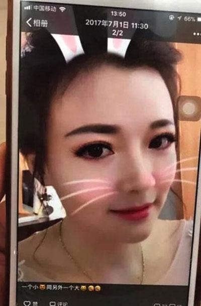 Hình ảnh trẻ trung khó tin của Sanjie mỗi khi xuất hiện trước mặt Xiaoqing.