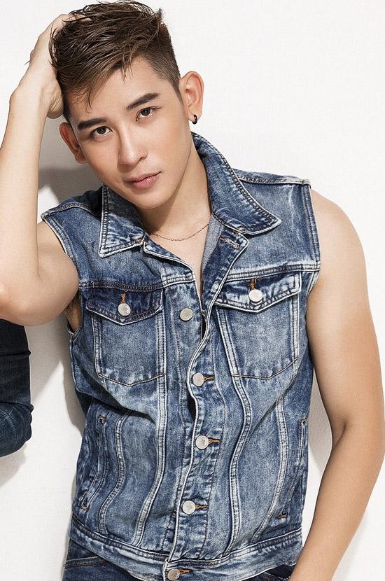 Siêu mẫu Minh Trung.