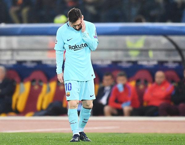 Messi đã có một đêm ác mộng tại sân Olympico