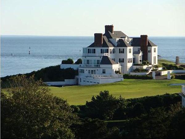 Biệt thự của Taylor ở Rhode Island.