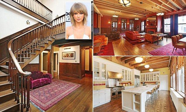 Căn penthouse sang chảnh của Taylor ở New York.