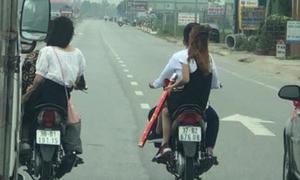Công an triệu tập hai thanh niên ngáng ôtô trên quốc lộ 1A để đưa dâu