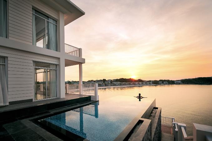Nội thất trong mỗi villa được nhập khẩu từ các thương hiệu danh tiếng thế giới.