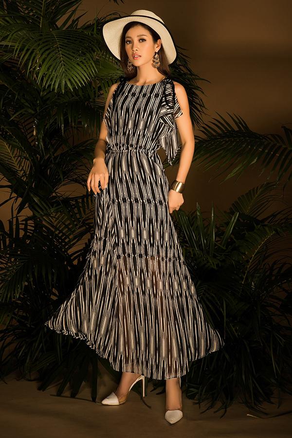 Bộ ảnh được thực hiện với sự hỗ trợ của nhiếp ảnh A.T stylist Mì Gói, người mẫu Mỹ Duyên.