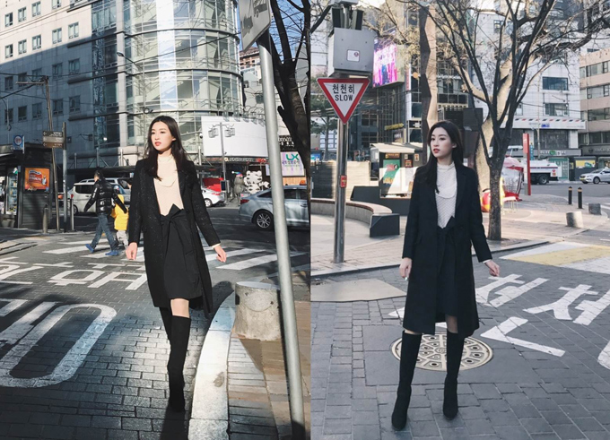 Mỹ Linh cho biết tủ trang phục của cô luôn đầy đủ các món đồ của thương hiệu MAX&Co trong mọi loại thời tiết.