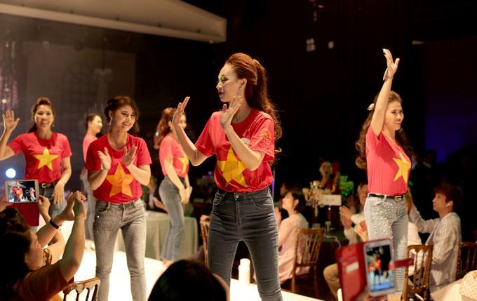 Tiên Cookie và thí sinh nhảy flashmob mở màn chung kết Queen of the spa - 5