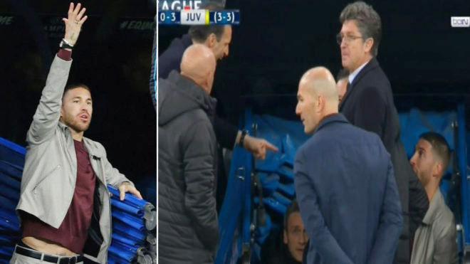 Ramos có thể phải ngồi ngoài ở bán kết lượt đi Champions League