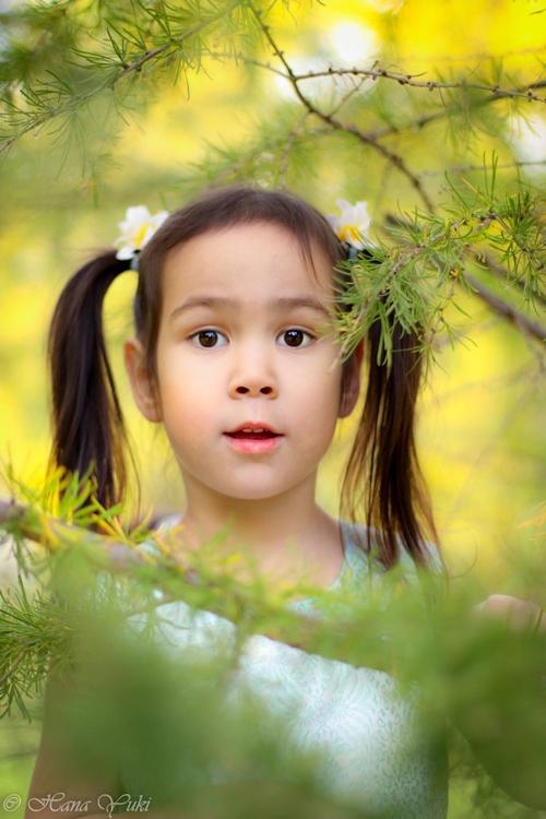 Bé Sophia 4,5 tuổi; sống cùng gia đình tại Canada.