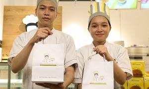 Thương hiệu bánh bông lan Uncle Lu ưu đãi cho khách hàng