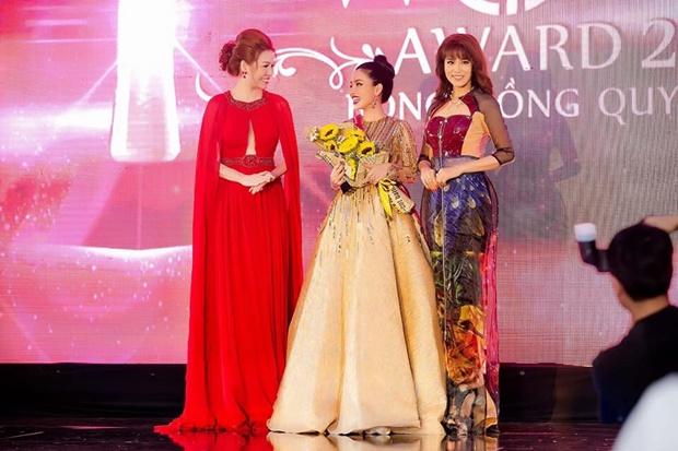 Á hậu Băng Châu trở lại ấn tượng với Bông hồng Quyền lực 2018 - 3