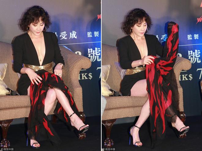 Lưu Gia Linh mặc vừa ngắn vừa hở - 3