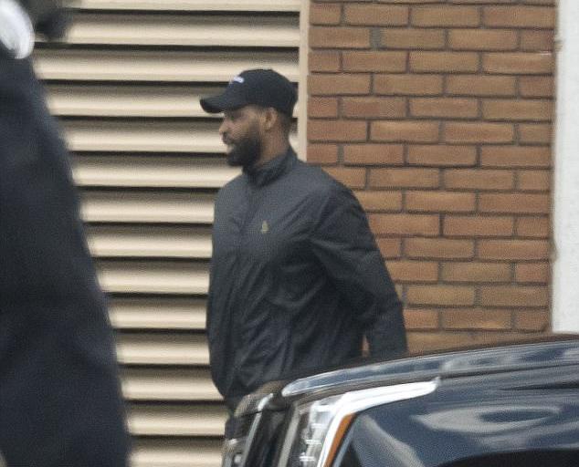Tristan Thompson rời bệnh viện vào chiều ngày 12/4.