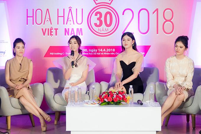 Đỗ Mỹ Linh, Thanh Tú, Thuỳ Dung bắt đầu hành trình tìm Hoa hậu Việt Nam 2018