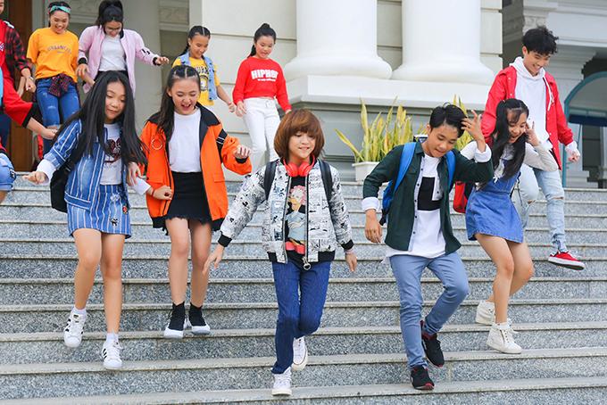 MV được quay hình trẻ trung, năng động, đúng với lứa tuổi của Thiên Khôi.