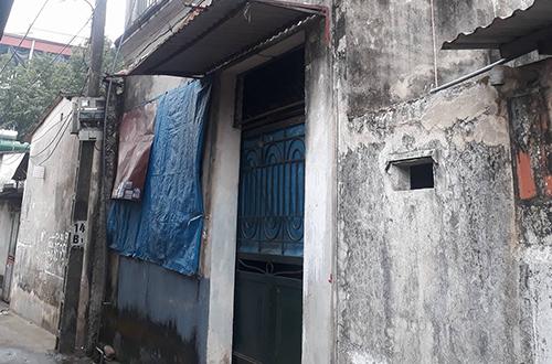 Căn nhà nơi xảy ra vụ việc khoá trái cửa. Ảnh:P.D.