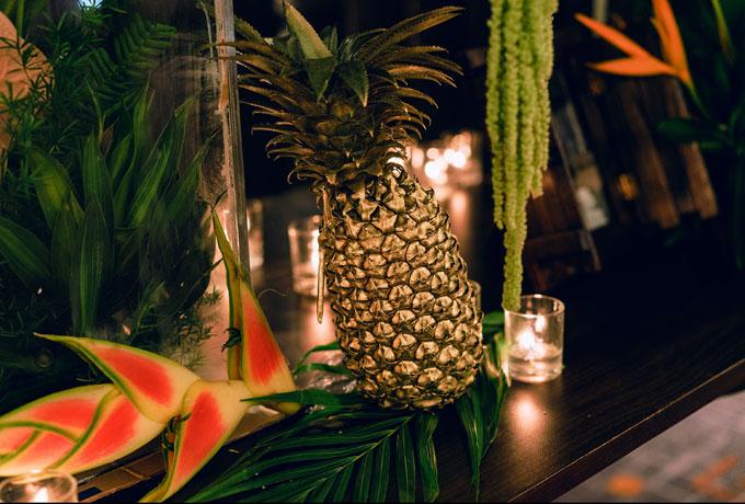 Tiệc cưới chủ đề Rừng nhiệt đới được thực hiện trong thời gian siêu tốc - 7