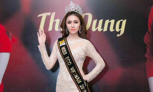 Hoa hậu người Việt 'gây bão' vì nói tiếng Anh kém ở Miss Eco International 2018