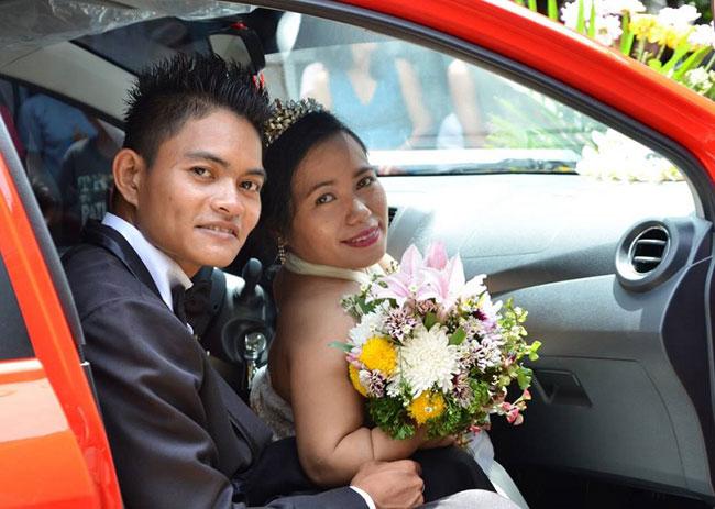 Cả hai mới cưới được 1 tháng và đang tận hưởng khoảng thời gian ngọt ngào sau đám cưới.