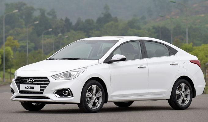 Hyundai Accent 2018 trình làng giá từ 425 triệu đồng